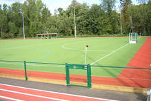 Water based AstroTurf pitch at St George's College