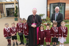 Bishop Richard warmly welcomed at St George's Junior School