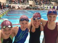 National swimming success