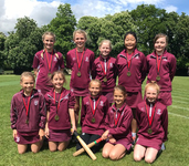 Under 10A girls' rounders team unbeaten on way to winning Downsend Rounders Tournament
