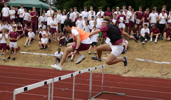 Georgian spirit shines through at Sports Day