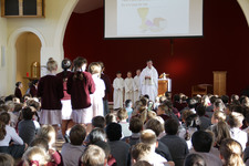New Beginnings Mass celebrated by Upper Years pupils at the Junior School