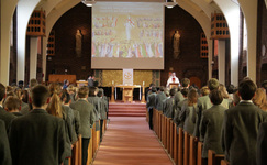 The Feast of 'All Saints' celebrated at St George's