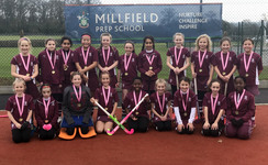 Unstoppable Under 11 girls' hockey squads enjoy more success