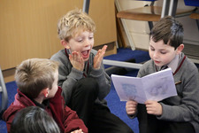 Christmas readings shared at the Junior School