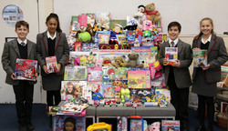 Students generously donate to those in need at Christmas