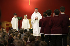Upper Years celebrate New Year Mass