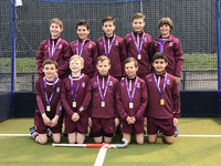 U11 boys' hockey team go unbeaten to be crowned IAPS London and SE England Champions