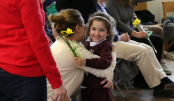 Nursery children celebrate Mother's Day