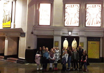 First Year Junior singers head to the West End to see 'The Lion King'