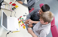 Robotic Lego alligators take over Junior School