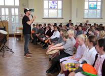 Poetry at the Junior School transformed into rhythmic, rhyming raps