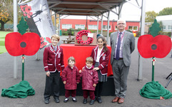 St George's Junior School remembers - Lest we forget