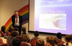 Young Geographers travel across different World Time Zones in special workshop