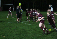 U14 rugby squads take part in once-in-a-lifetime training experience
