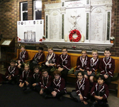 Year 6 historians learn about WWI at St George's College