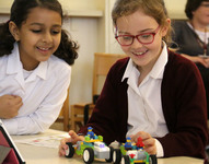 Years 3 and 4 put all the pieces together at special LEGO workshop
