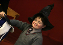 Year 4 prepare for Harry Potter trip with a special 'Sorting' ceremony