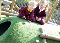 Nursery learn about Easter traditions and the art of egg rolling