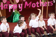 Nursery say thank you to their mums in special Mother's Day service