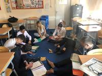 St Joseph's African Aid Ambassadors take part in 'No Desk Day'