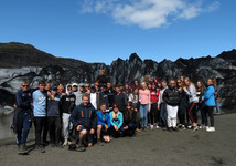 Fifth Year visit breathtaking sites in Iceland