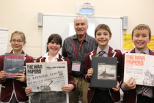 History Club learns about HMS Neptune