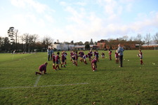 Year 6 rugby development afternoon at the College