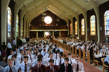 College end of term service celebrates and gives thanks