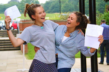 Determination, commitment and enthusiasm by St George's College students to achieve excellent A Level results