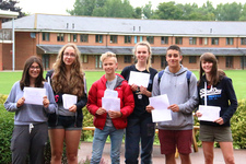 St George's College, Weybridge students celebrate after another 'A-star-studded' set of GCSE results in 2015