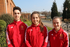 Triple success as three selected to play for England hockey