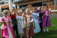 Nursery pupils slay dragons and honour St George's Day