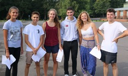 Another 'A-Star-studded' set of GCSE results for students at St George's College, Weybridge