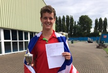U16 National Doubles Champion on GCSE results day
