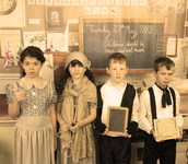 Time travel experience for pupils on Victorian Day