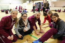 Pennies collected in annual Penny Chain for charity