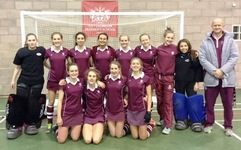 Incredible achievement at indoor hockey National Finals for girls' Under 16 squad
